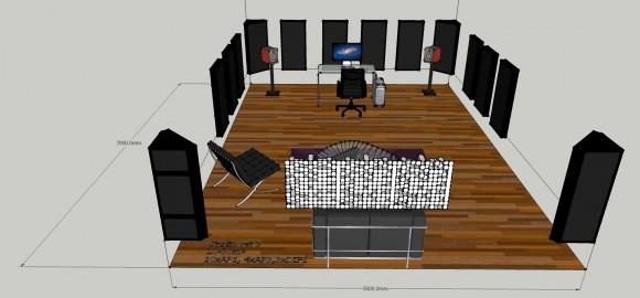 Studio set 3