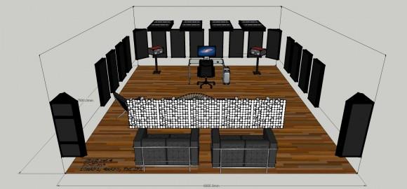 Studio set 4